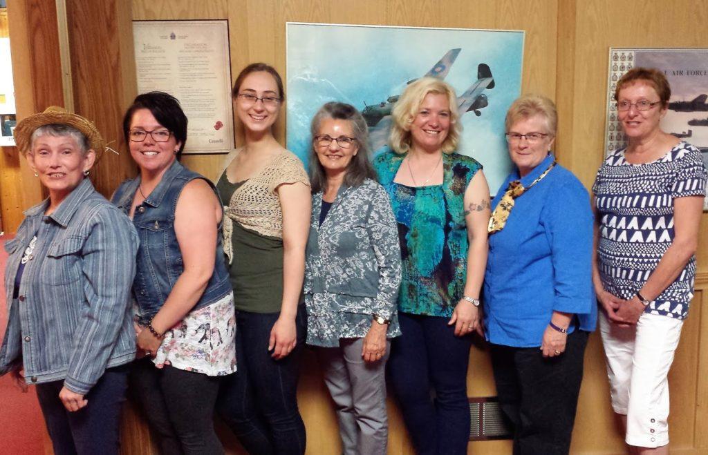 Les fondatrices de l'Association francophone de Red Lake